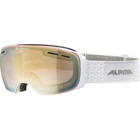 Alpina Granby QVM Gafas, white/lightgold